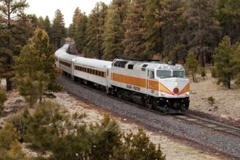 Grand Canyon Train & Sunset Tour