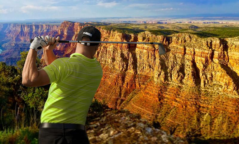 Phoenix Open Golf Grand Canyon